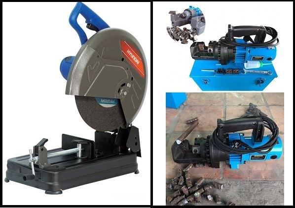Cắt sắt xây dựng nên mua máy cắt bàn hay máy cắt thủy lực cầm tay ?