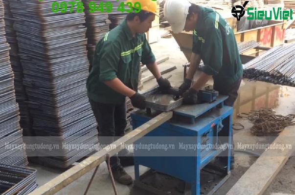 Máy uốn đai sắt xây dựng