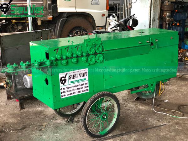 Các loại máy bẻ đai sắt trên thị trường