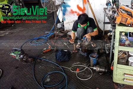 Sửa chữa máy cắt sắt xây dựng