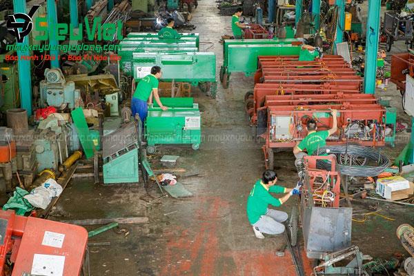 Chế tạo máy bẻ đai sắt