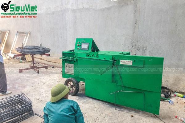 Tại sao phải mua máy bẻ đai sắt thép xây dựng?
