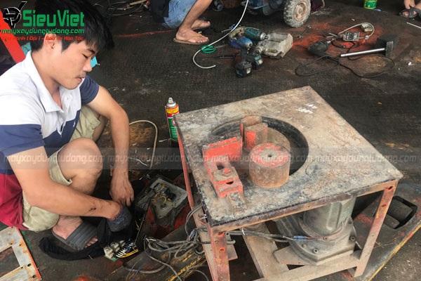Sửa máy uốn sắt
