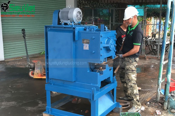 Máy cắt thép xây dựng   Máy chặt sắt xây dựng