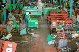 Sửa chữa máy bẻ đai sắt