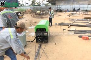 Các loại máy duỗi sắt xây dựng