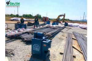 Cung cấp máy gia công sắt cho công trình Điện Gió Ninh Thuận