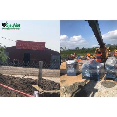 Cung cấp máy gia công sắt xây dựng cho dự án Điện Gió Gia Lai