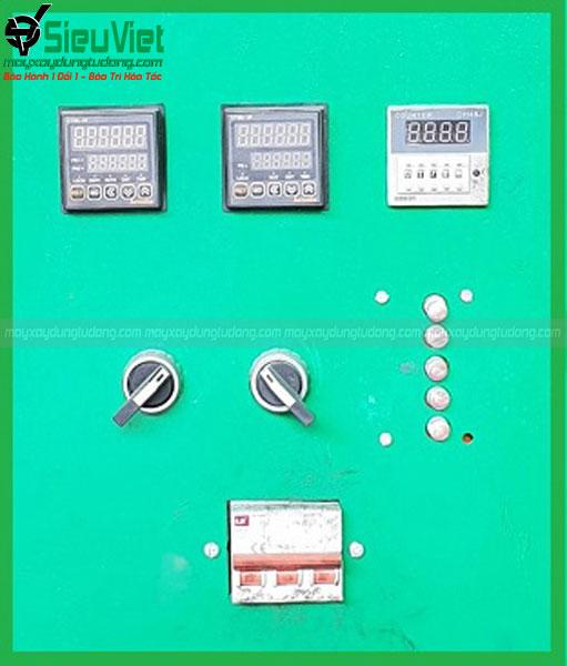 Bộ đồng hồ điều khiển của máy bẻ đai sắt SV-M45